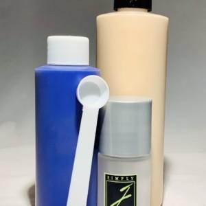Custom blend bottle