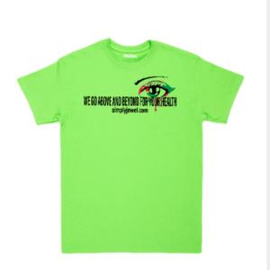 SJHS We Go Above T-shirt